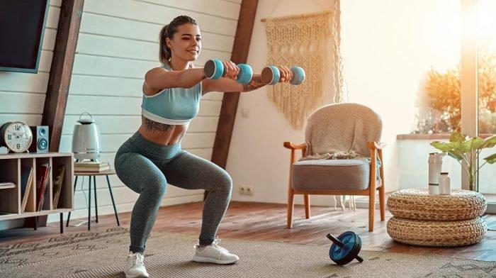 20 Minuten Kurzhantel Workout für Frauen