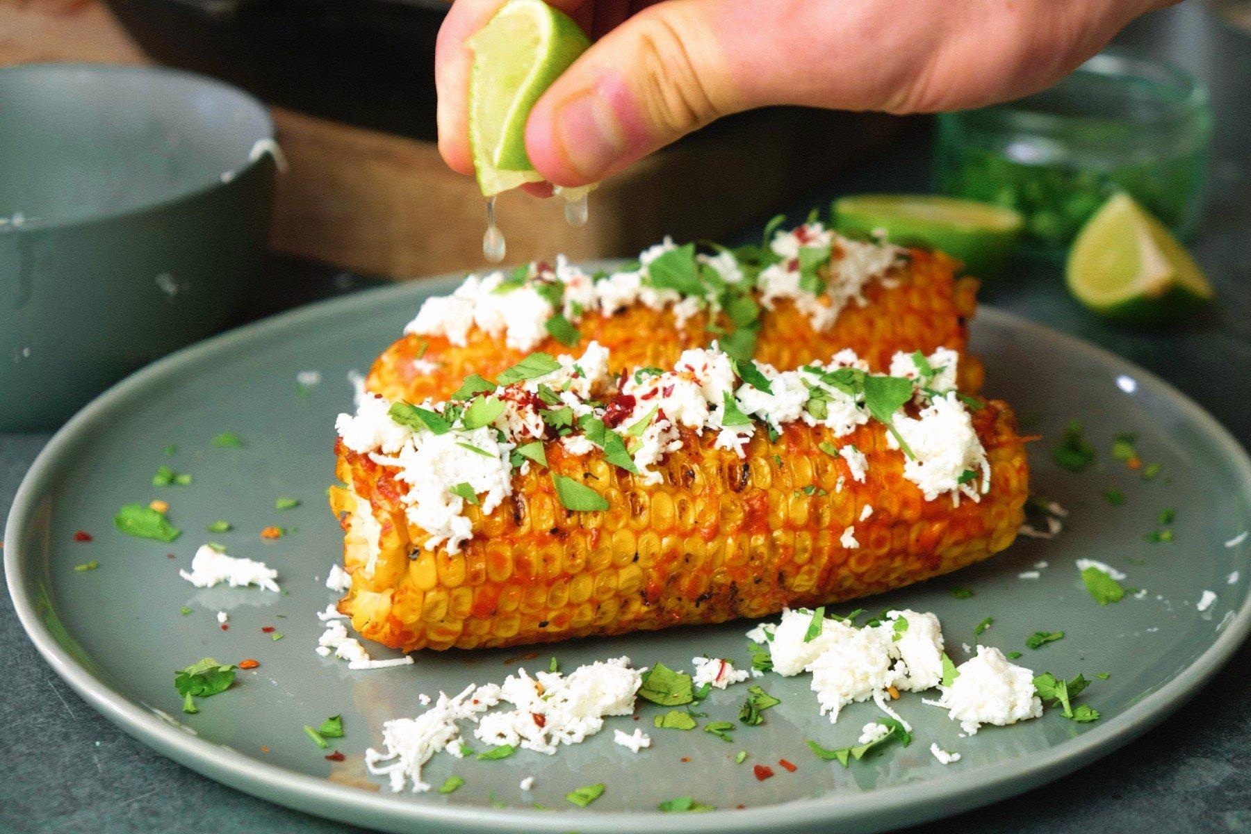 Gegrillter Mais Mexican Style   Köstliches Sommer-Rezept