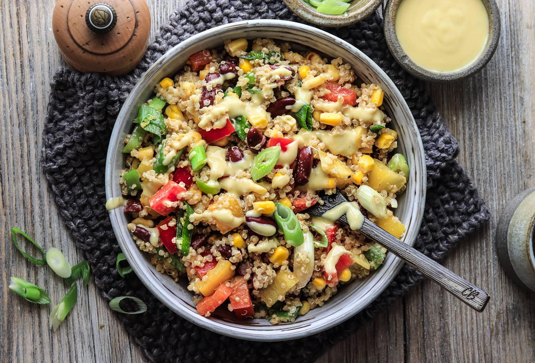 Tex Mex Quinoa Salat