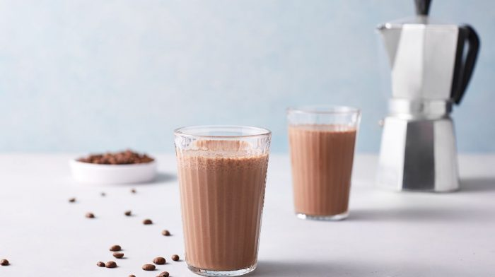 Coffee & Chocolate Breakfast Protein Smoothie