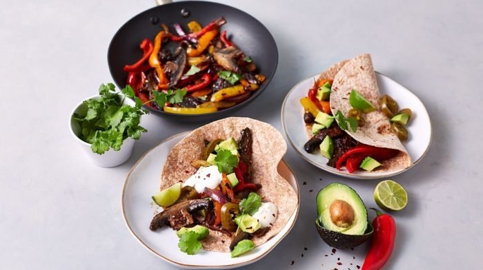 Vegan Fajitas | 15-Minute Ultimate Portobello Fajitas