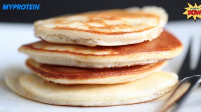 Protein Pow | Silver Dollar Banana Whey Protein Pancakes