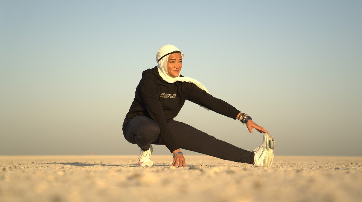 "5 Minutes With Manal Rostom | Marathon Runner, Mountaineer & Founder Of ""Surviving Hijab"""