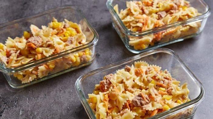 Easy Pasta Salad Meal Prep Recipe