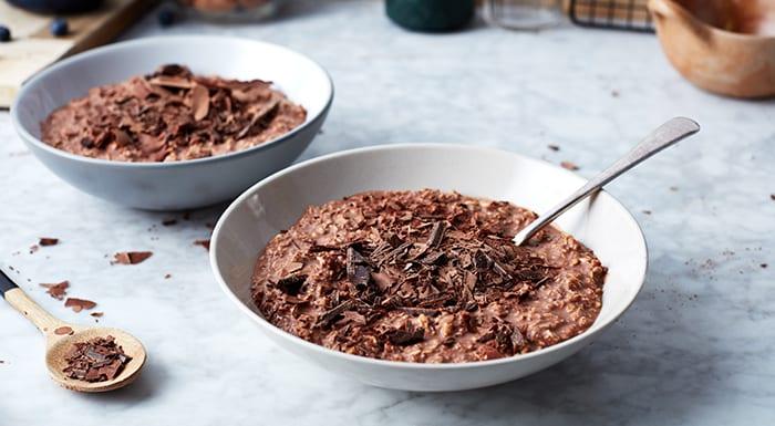 recetas saludables de gachas de avena