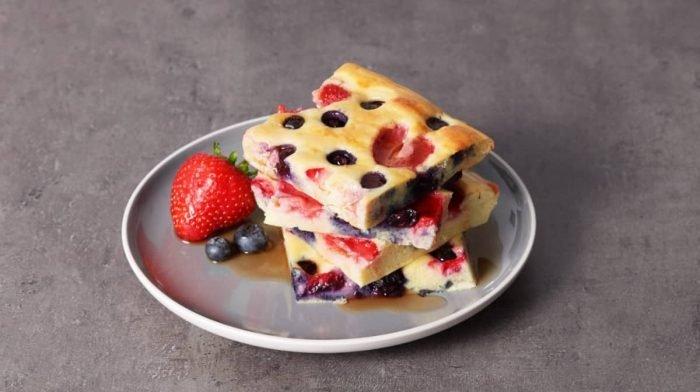 Tortitas proteicas al horno | Receta fácil para el desayuno