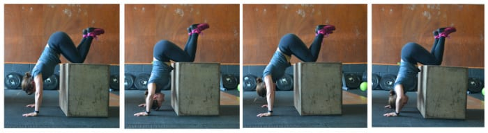 The Box Push-Up nivel 2