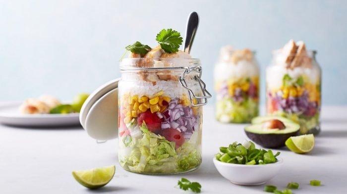 Burritos en jarra bajos en Carbohidratos | Comida para 4 días