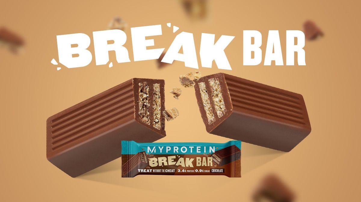 Barrita Break | La nueva barrita proteica de Myprotein
