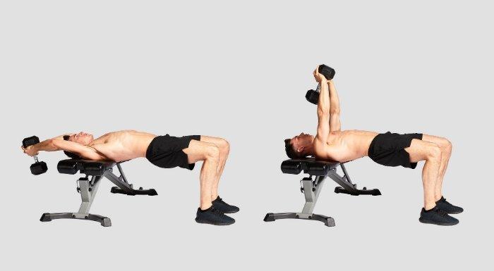 Pullover para el entrenamiento de pecho y espalda