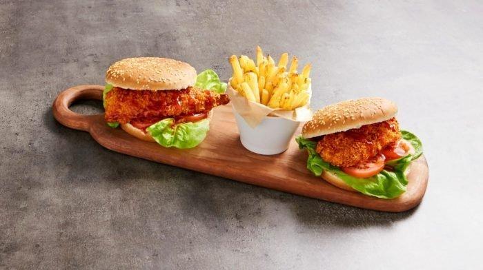 Hamburguesa de pollo Zingy | Recetas Fakeaway