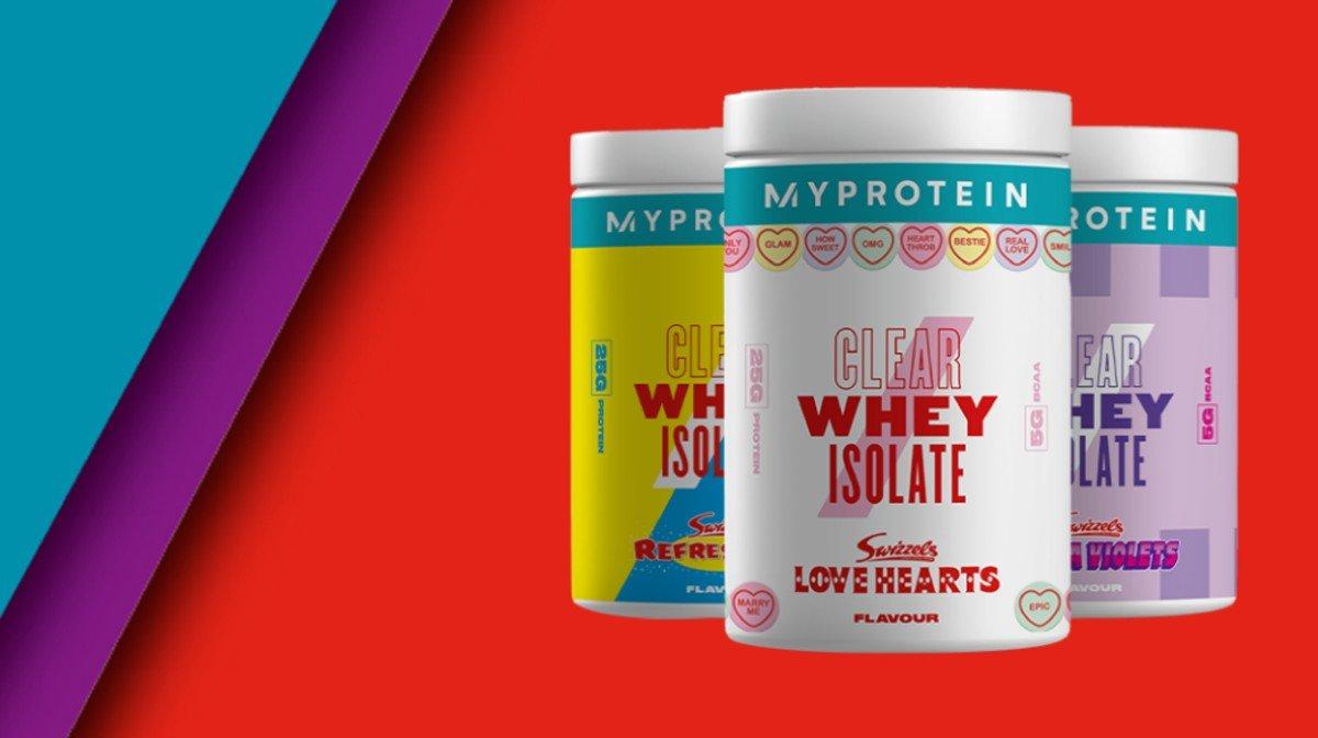 Myprotein X Swizzels | Snacks proteicos y bajos en azúcar