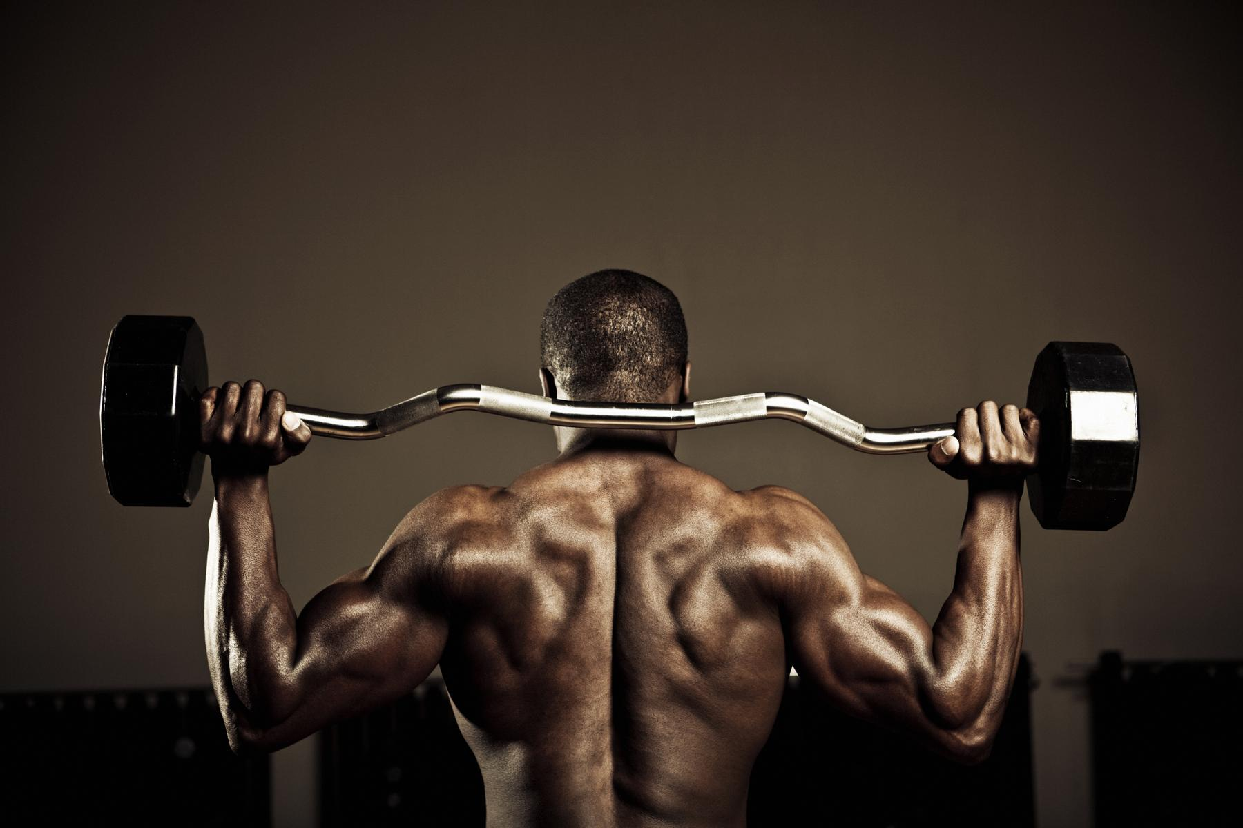Rutina de Hombro para Ganar Masa muscular