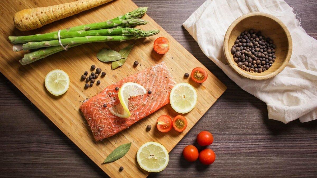 calorías del pescado
