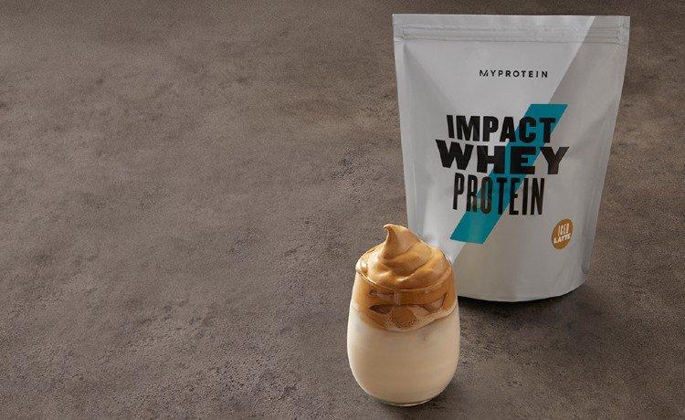 Café Dalgona Iced Latte