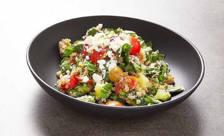 Ensaladas de verano con quinoa