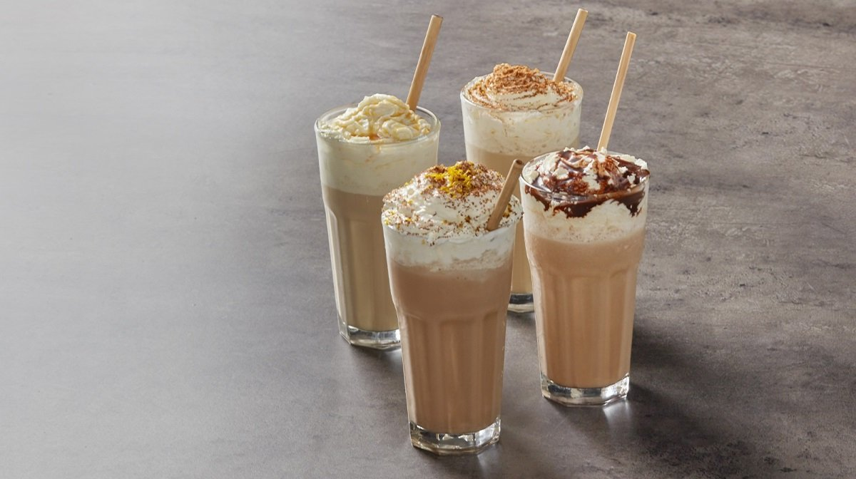 Batidos proteicos de café helado de 4 formas | Recetas de verano