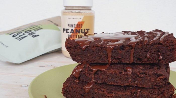 Brownie vegano de chocolate | Celebramos el mes del vegano