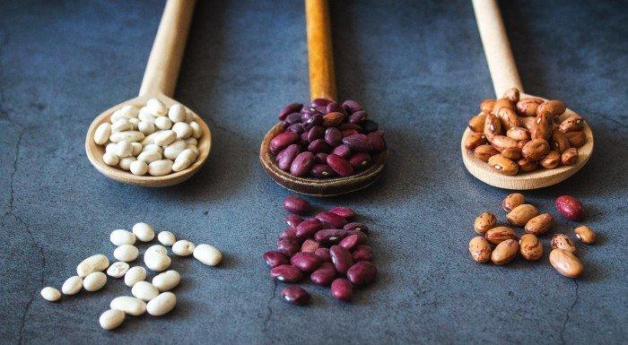 calorías de las legumbres
