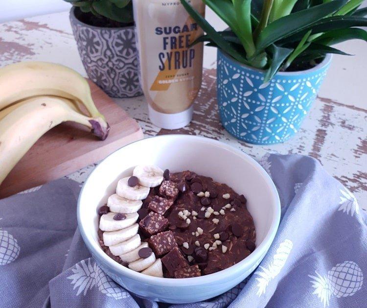 porridge o gachas de avena