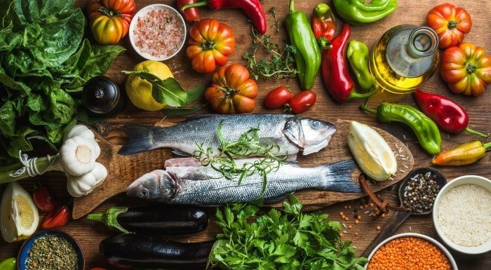 comidas mediterráneas