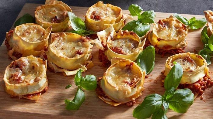Tazas de lasaña vegana fáciles y rápidas | Recetas proteicas