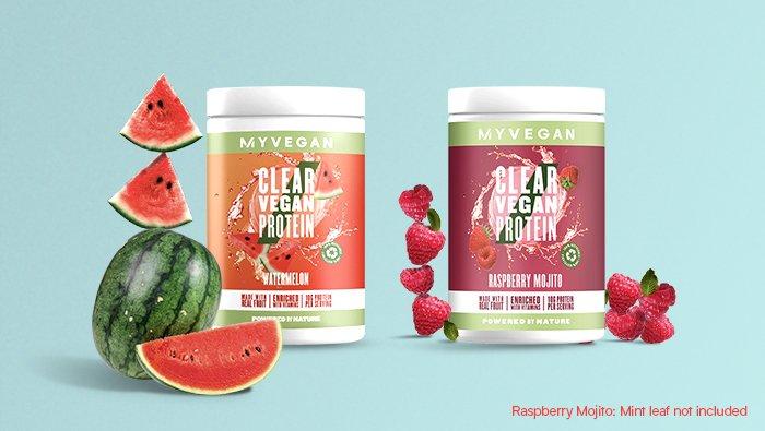 Clear Vegan Protein | Nuestro nuevo y exclusivo batido vegano