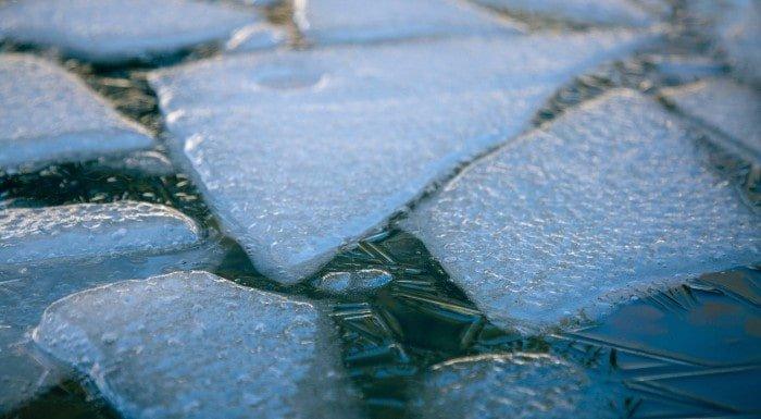 baños de hielo