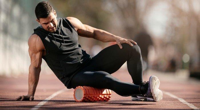ejercicios con rodillo de espuma