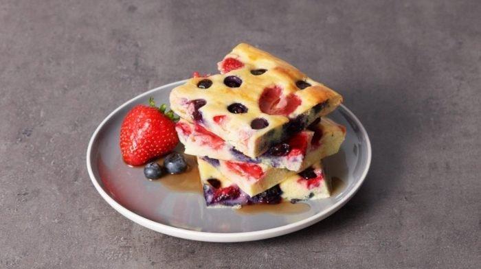 Pancake al forno | Ricette facili e veloci fit