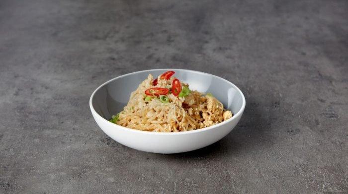 Ricetta Noodles con Tacchino e Salsa di Soya