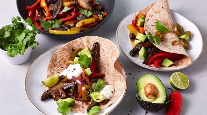 Cena Vegana in 15 minuti | Portobello Fajitas