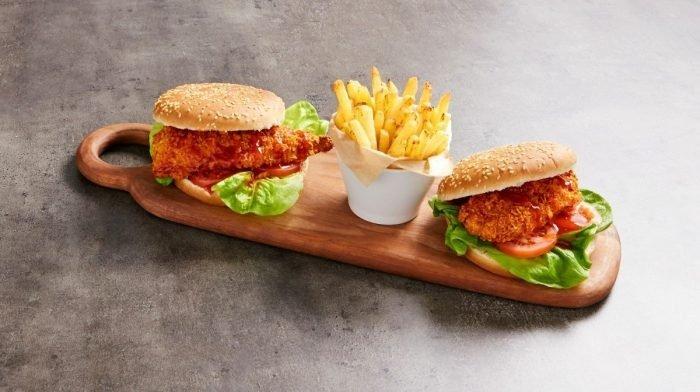 Chicken burger piccante | Ricetta facile e veloce