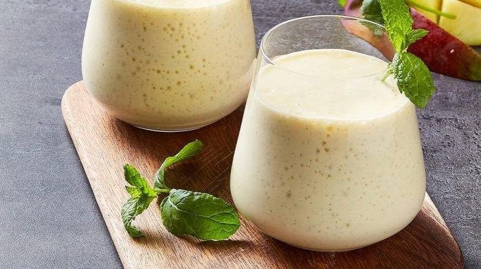 Lassi indiano al mango ad alto contenuto proteico | World's Kitchen