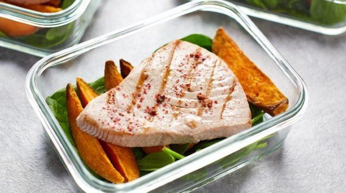 Ideias para Receitas com Bifes de Atum | Atum Braseado com Batata Doce