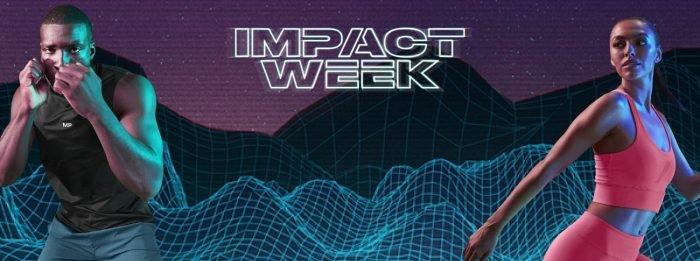 Vestuário Impact Week | Promoções e Oportunidades de Edição Limitada