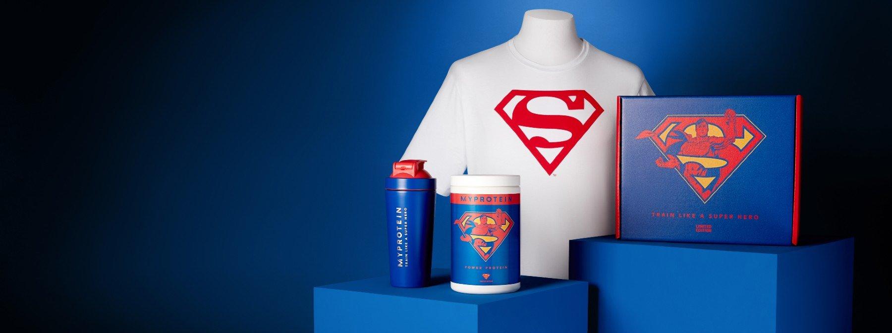 Conjunto Superman | Treina Como Um Super-Herói
