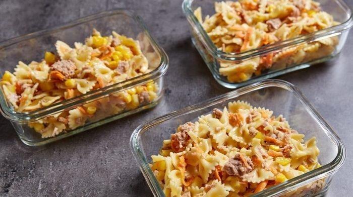 Salada de Massa | Refeição preparada fácil