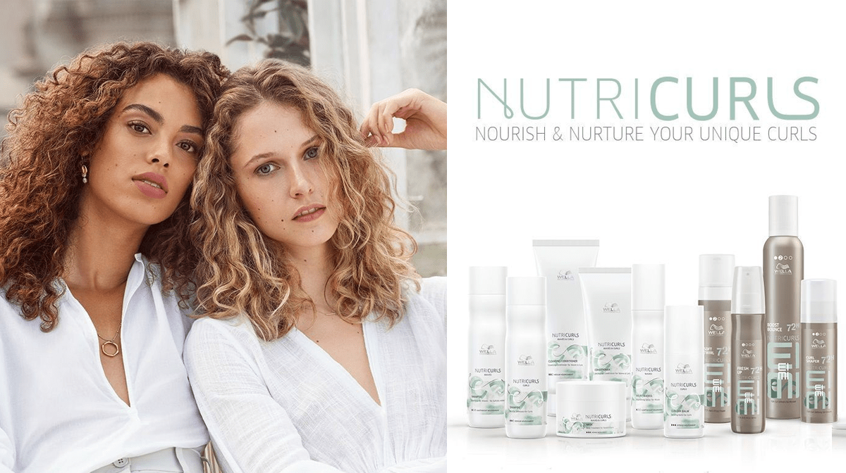 ATT: curly girls, Wella's Nutricurls range was created just for you!