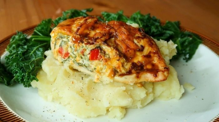 BBQ-Stuffed Chicken Breast