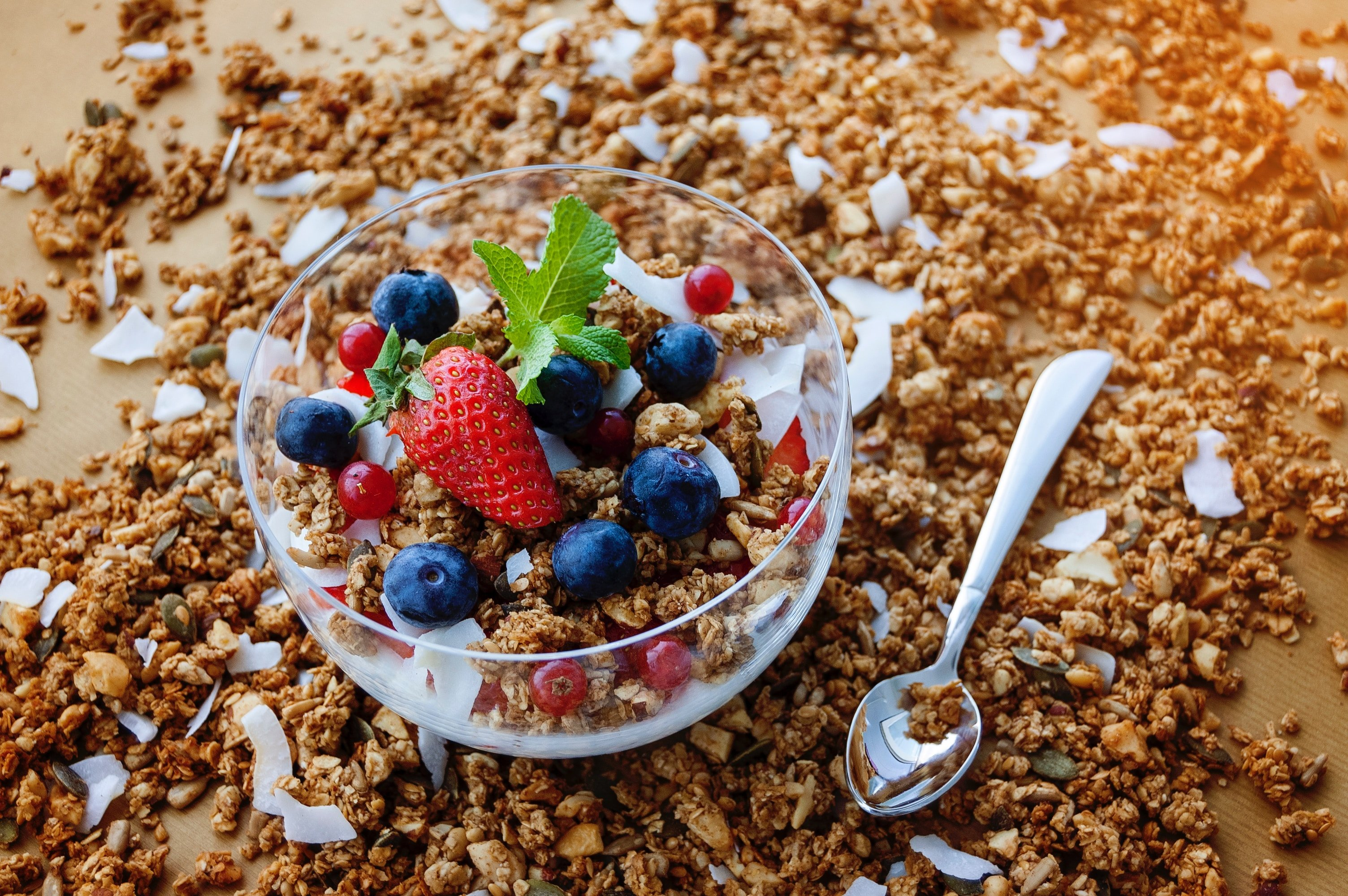 Cherry Granola Bowl