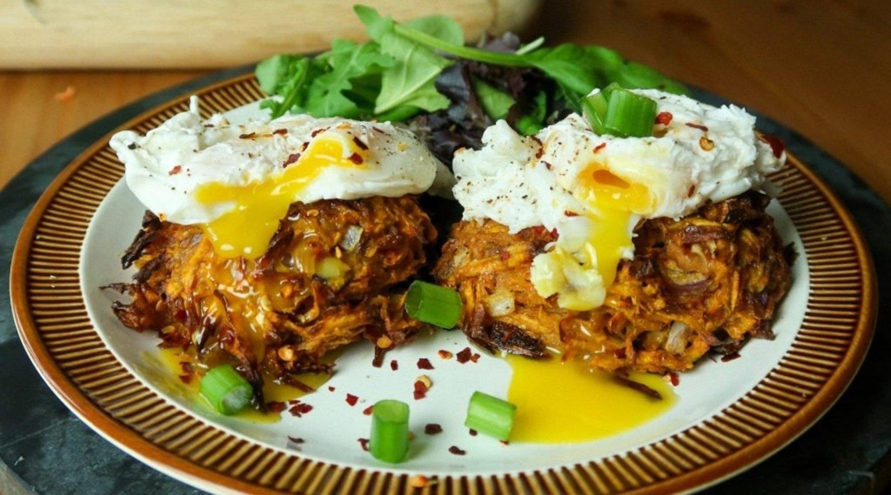 Crispy Sweet Potato Rostis | Gemakkelijke Ontbijt Opties