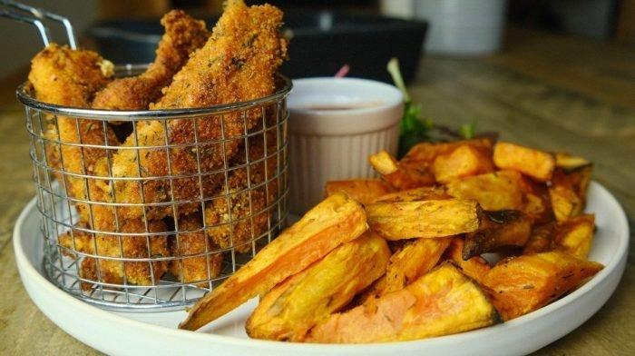 Southern Fried Chicken Goujons Met Suikervrije Saus