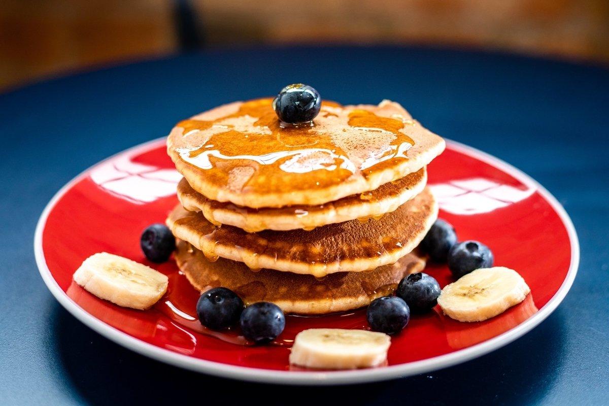 Eiwitrijke Cinnamon pancakes