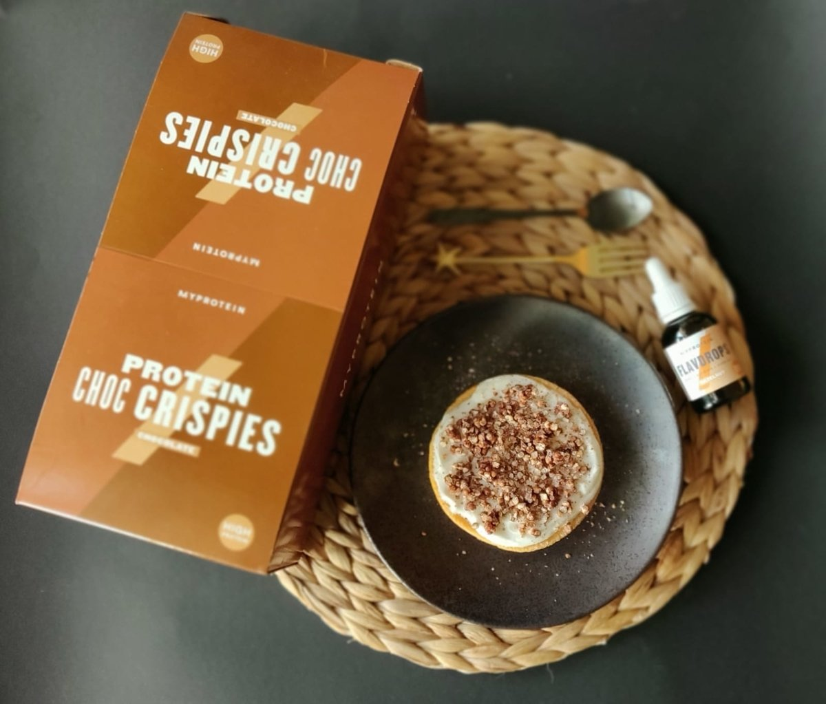 Crispie Hazelnut Cake