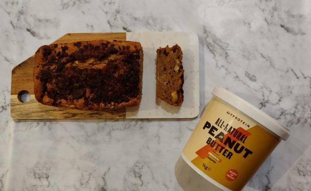 Bananen - Pindakaas Brood