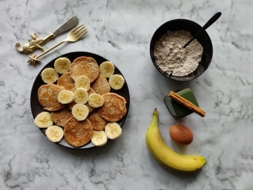 Cinnamon Pancakes | Topping naar keuze