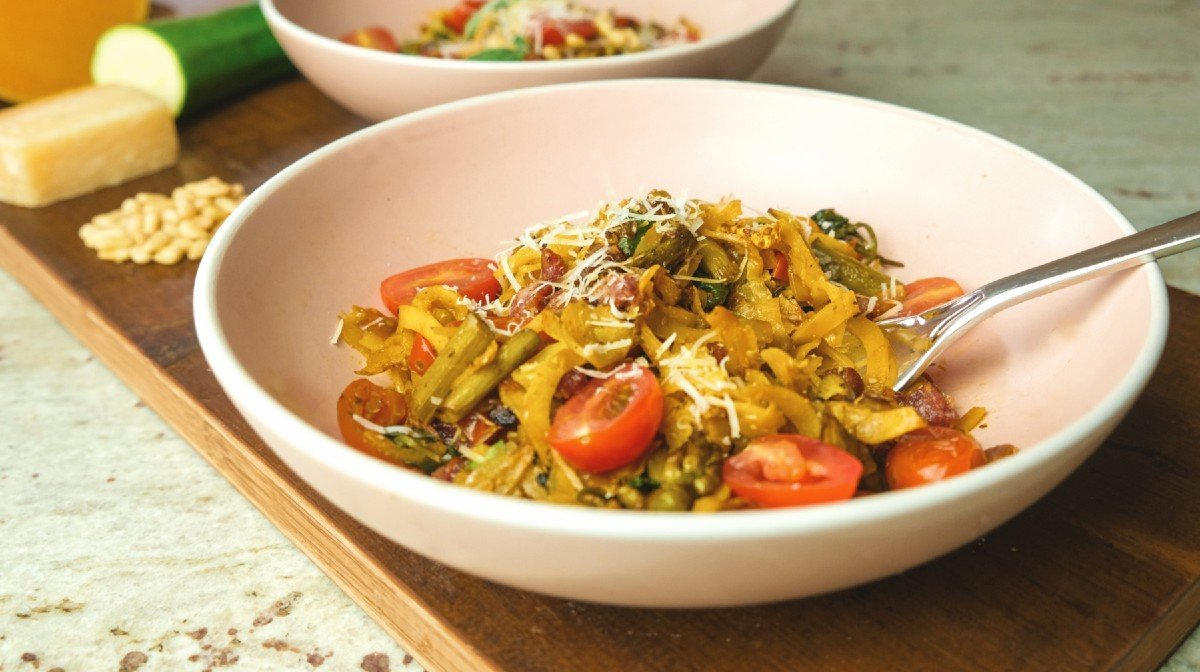 2 heerlijke pasta alternatieven
