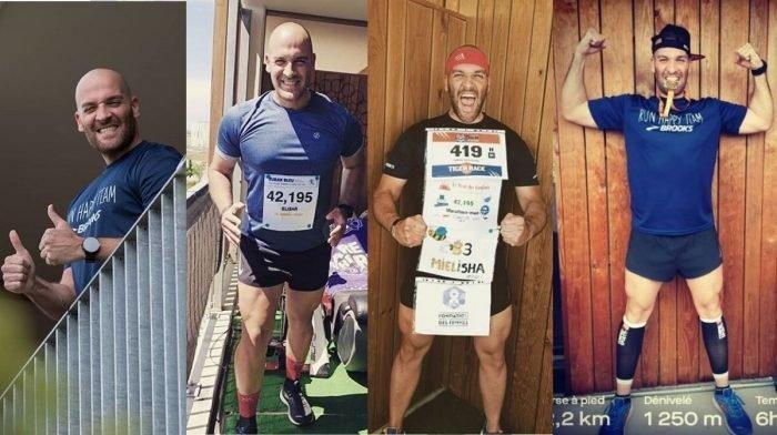 Hoe deze man 6+ marathons op zijn balkon liep