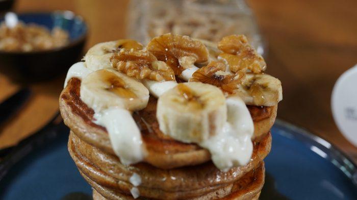 Delicious Protein Vanilla Pancakes!